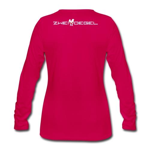 Zweivoegel Logo png ws png - Frauen Premium Langarmshirt