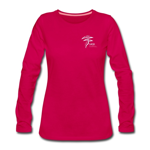 skiers-with-text - Women's Premium Longsleeve Shirt