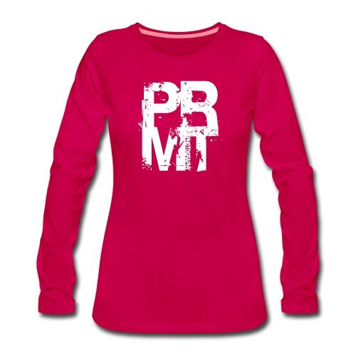 Pyromatic Shirt - Frauen Premium Langarmshirt