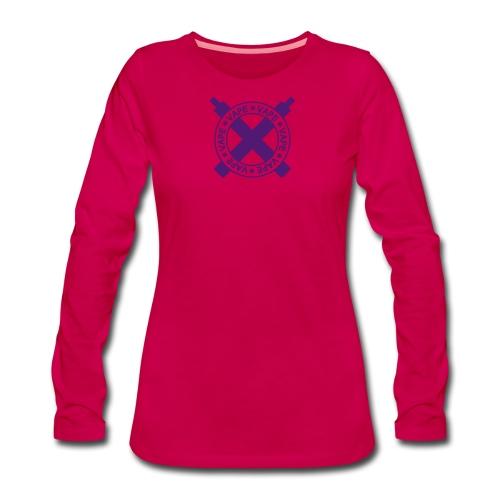 tshirt vapecross 1 exp - T-shirt manches longues Premium Femme