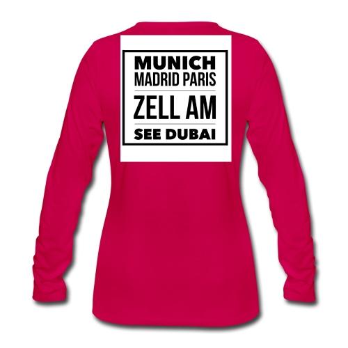dubai (3) - Frauen Premium Langarmshirt