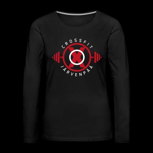 Crossfit Järvenpää - Naisten premium pitkähihainen t-paita