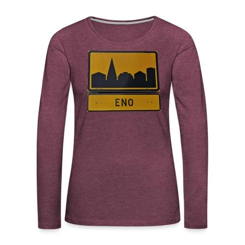 The Eno - Naisten premium pitkähihainen t-paita