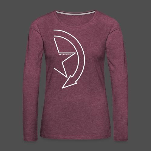 Brand logo 1/2 9KS07WE - Women's Premium Longsleeve Shirt
