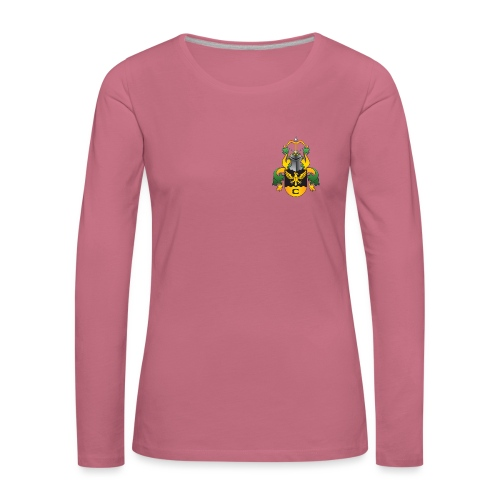 Vaakuna - Naisten premium pitkähihainen t-paita