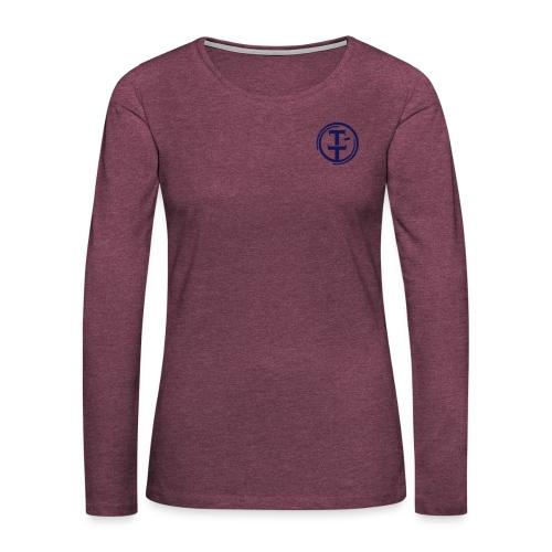 TT Symbol pieni ai - Naisten premium pitkähihainen t-paita