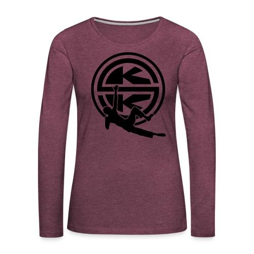 SKK_shield - Långärmad premium-T-shirt dam