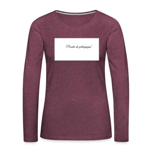 Happy - T-shirt manches longues Premium Femme