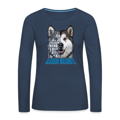 Alaskan Blue - Women's Premium Longsleeve Shirt