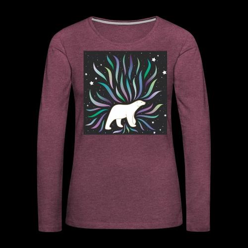 polar ours - T-shirt manches longues Premium Femme