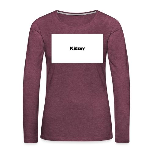 Kidzey Phonecase - Women's Premium Longsleeve Shirt