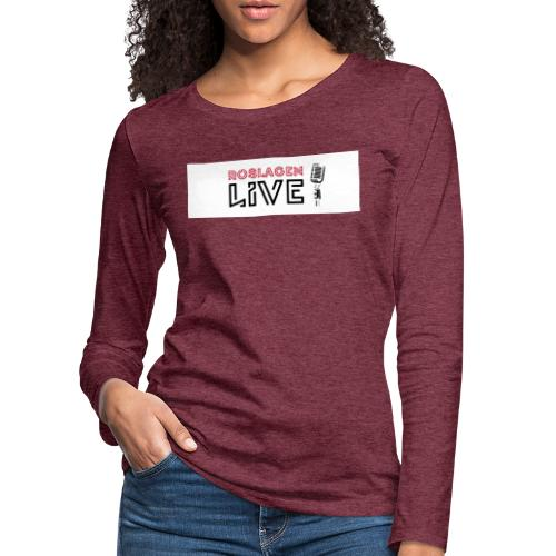 Roslagen Live - Långärmad premium-T-shirt dam