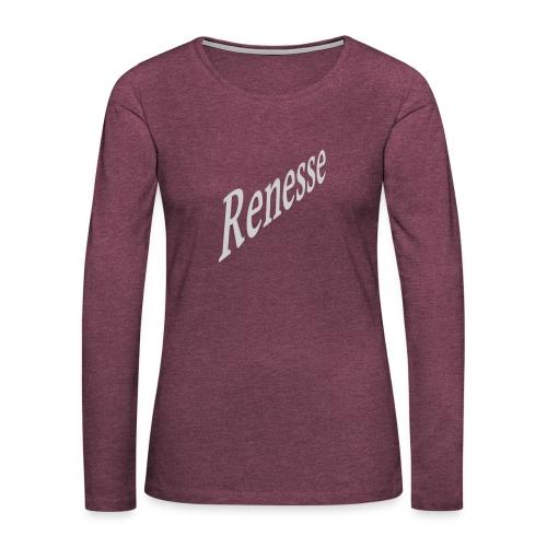 Renesse - Frauen Premium Langarmshirt