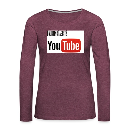 DauntingRabbit2 - Långärmad premium-T-shirt dam
