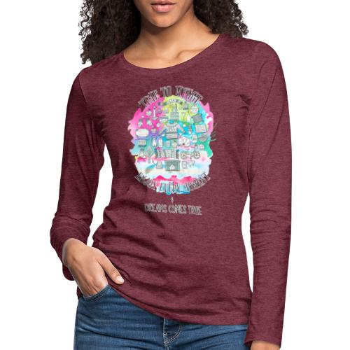 Time to Hygge - T-shirt manches longues Premium Femme
