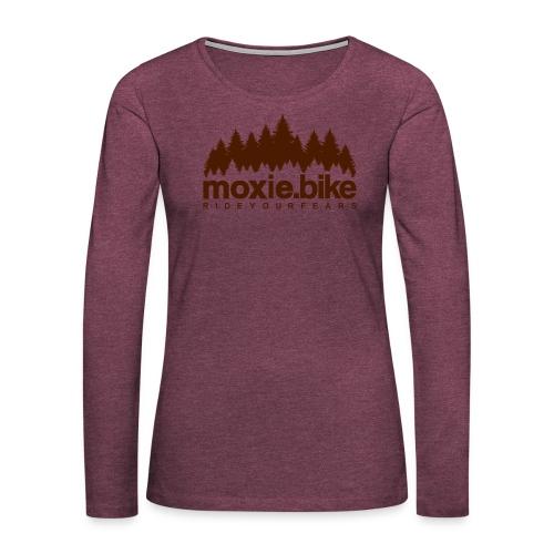 moxie.bike rideyourfears - Women's Premium Longsleeve Shirt