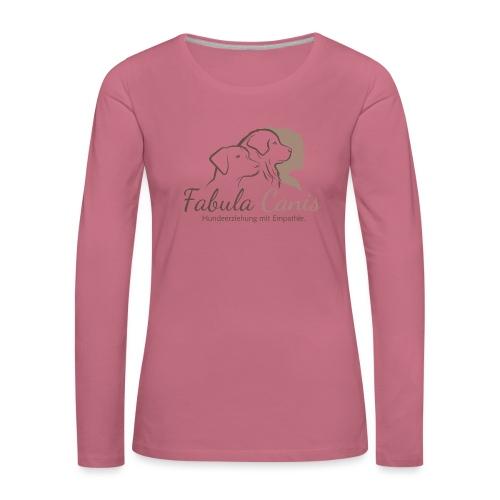 Fabula Canis - Frauen Premium Langarmshirt
