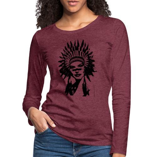 Indienne - T-shirt manches longues Premium Femme