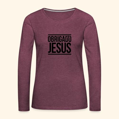 Multi-Lingual Christian Gifts - Women's Premium Longsleeve Shirt