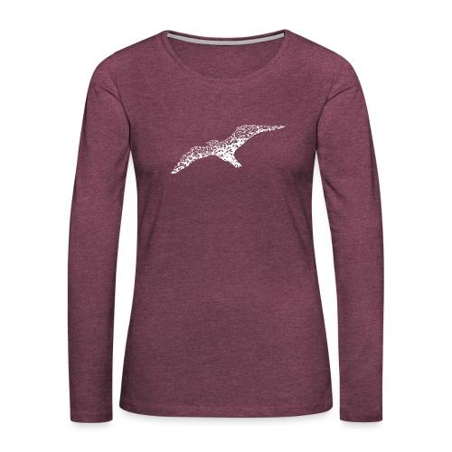 Möwen - Frauen Premium Langarmshirt