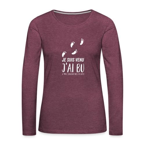 Tshirt Femme / homme - T-shirt manches longues Premium Femme
