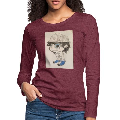 la vida es bella - Camiseta de manga larga premium mujer