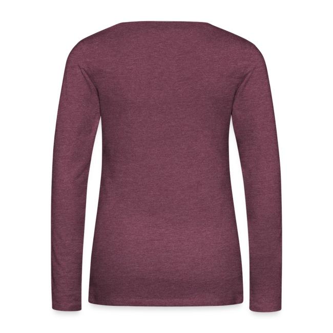 Vorschau: Samma si ehrlich mit am Spritza is Lebm herrlich - Frauen Premium Langarmshirt