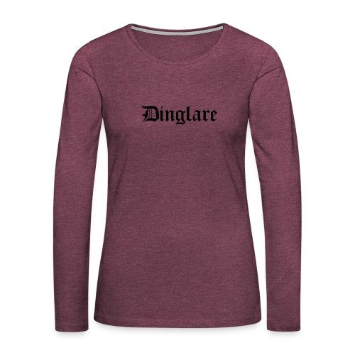 626878 2406568 dinglare orig - Långärmad premium-T-shirt dam