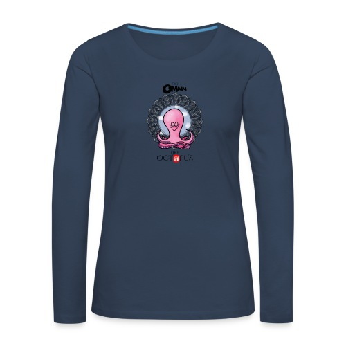 octopus meditation - Women's Premium Longsleeve Shirt