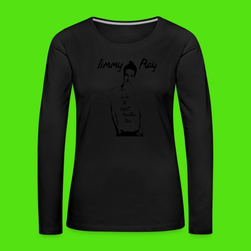JR-Live to Fight - black - Women's Premium Longsleeve Shirt