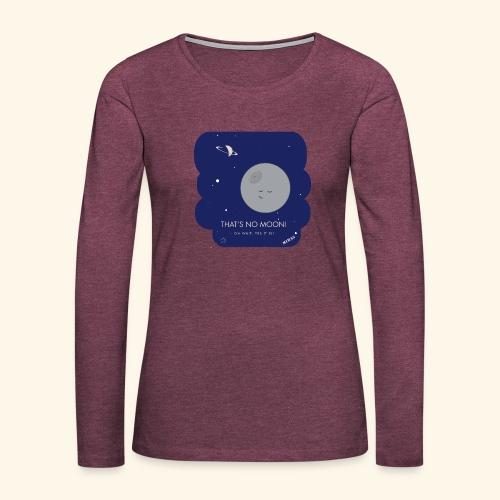 Mimas - Thats no moon - Långärmad premium-T-shirt dam