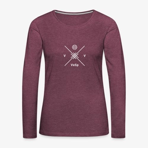 Crewe 26 VeSp Logo - Women's Premium Longsleeve Shirt