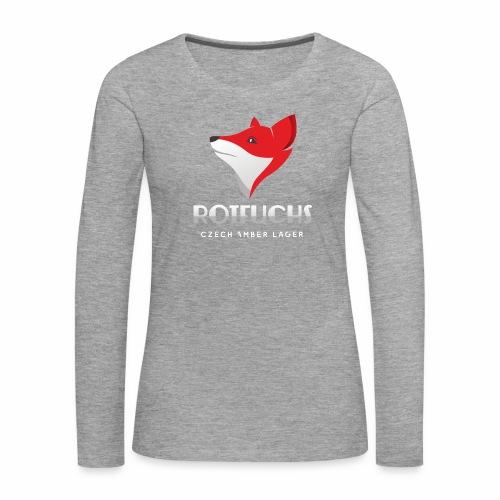 HBH RotFuchs1 - Frauen Premium Langarmshirt
