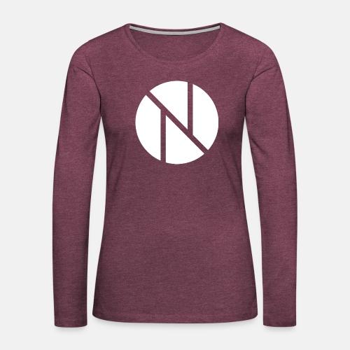 Nic0s Fancy Pullover - Frauen Premium Langarmshirt