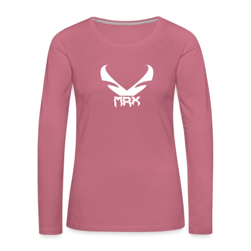 Black | MxR - Frauen Premium Langarmshirt