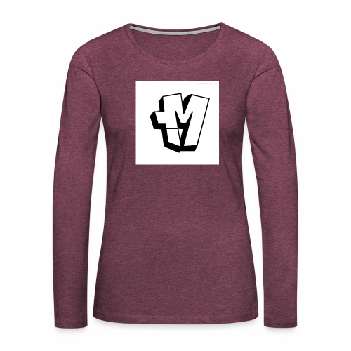 graffiti alphabet m - Women's Premium Longsleeve Shirt