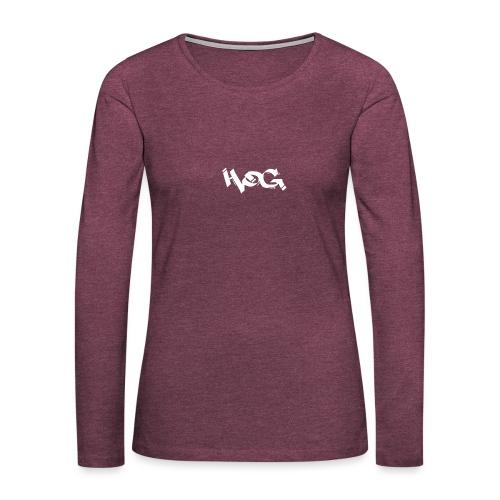 Hog - Camiseta de manga larga premium mujer