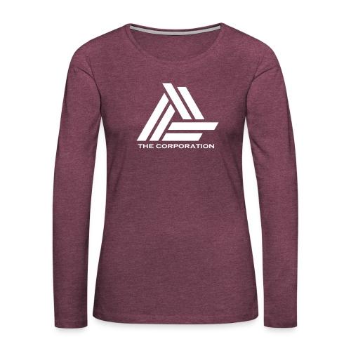 wit metnaam keertwee png - Women's Premium Longsleeve Shirt
