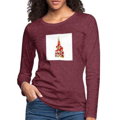 Shoppiful - Maglietta Premium a manica lunga da donna