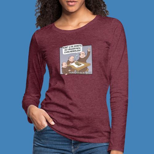 Pubquiz in de Abdij - Vrouwen Premium shirt met lange mouwen
