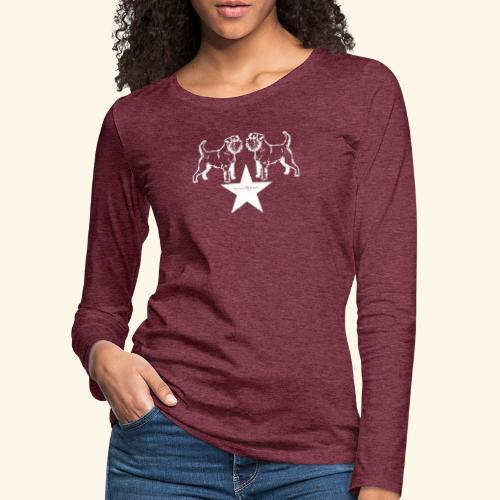 Brussels Griffon star - T-shirt manches longues Premium Femme