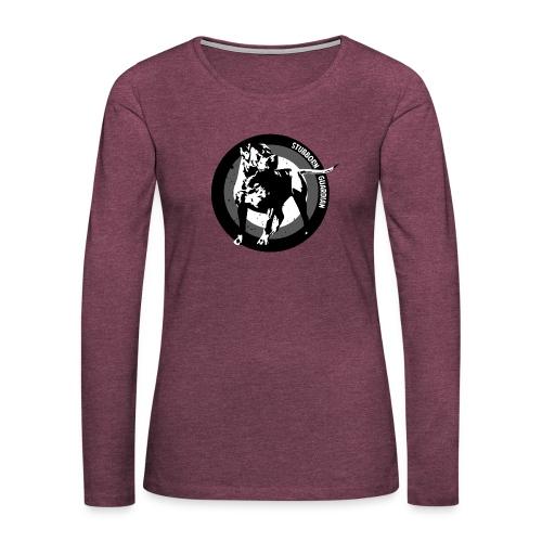 Stubborn Guardian - Naisten premium pitkähihainen t-paita