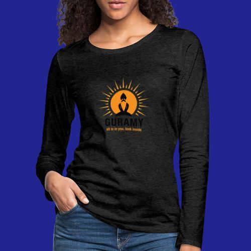 final nero con scritta - Women's Premium Longsleeve Shirt