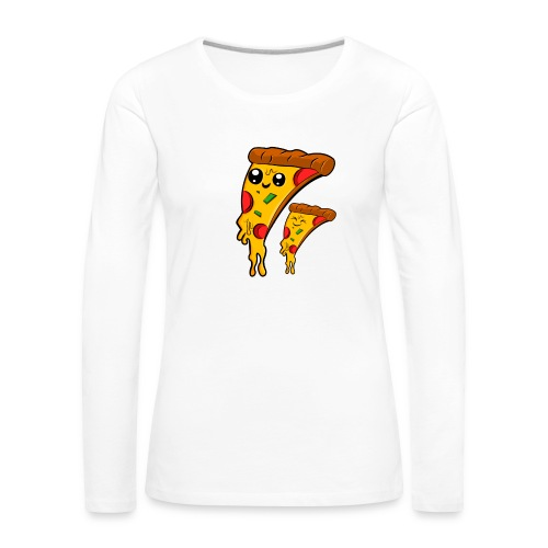 pizza Amigos Pizza Friends - Camiseta de manga larga premium mujer