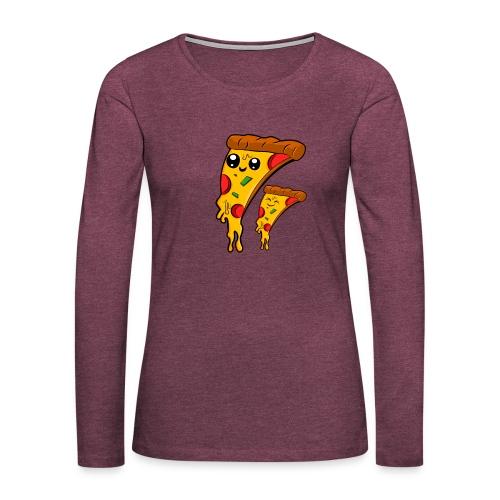 pizza Amigos Pizza Friends - Camiseta de manga larga premium mujer