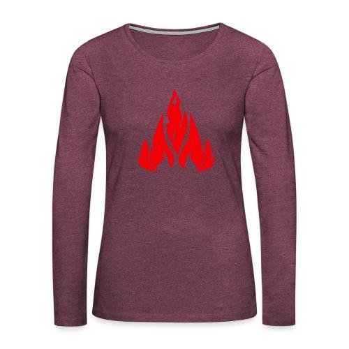 fire - Women's Premium Longsleeve Shirt