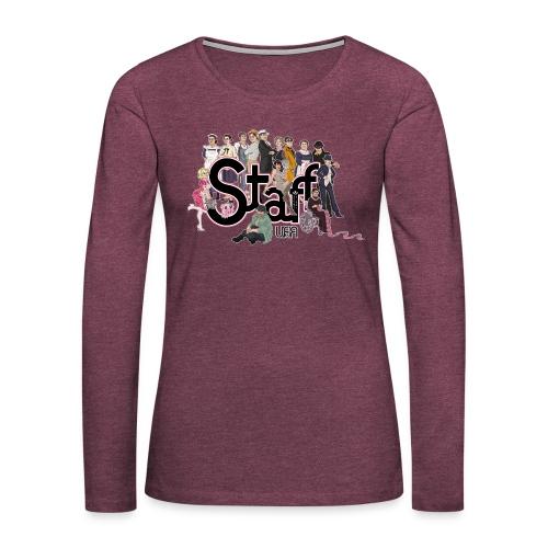 Camiseta Staff - Camiseta de manga larga premium mujer