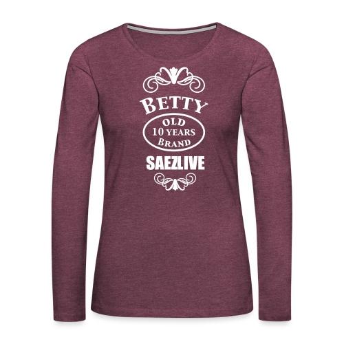 Betty (version light) - T-shirt manches longues Premium Femme