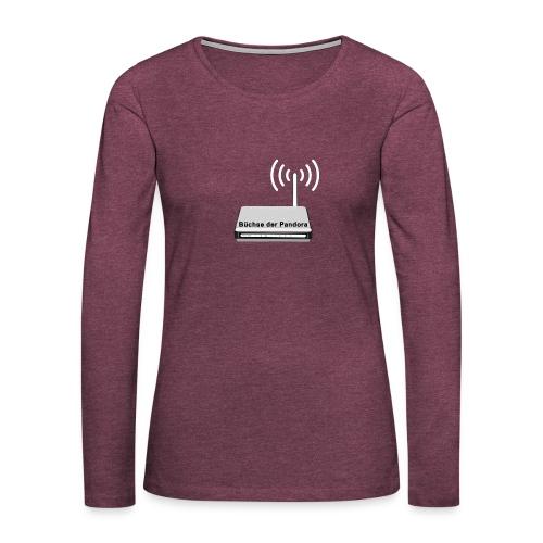 Büchse der Pandora - Frauen Premium Langarmshirt