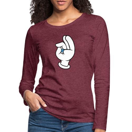 Verguckt - Frauen Premium Langarmshirt